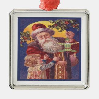 Wishing You A Merry Christmas Metal Ornament