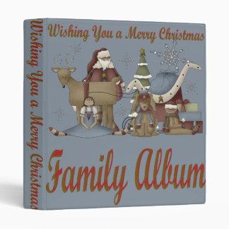 Wishing You a Merry Christmas Vinyl Binder