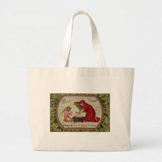 Wishing you a Merry X-Mas Jumbo Tote Bag
