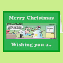 Wishing you a PEECEFUL CHRISTMAS Card