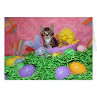 Wishing you a Purrrrfect Easter! Card
