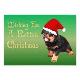 Wishing You A Rotten Christmas Card