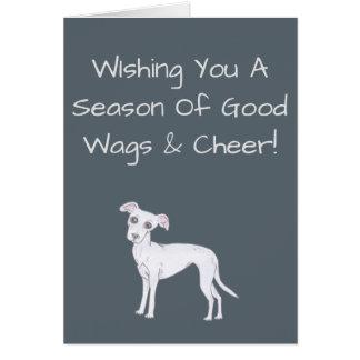 WIshing You A Season Of Good Wags & Cheer! Card