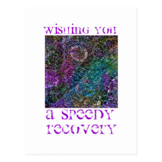 Wishing You a Speedy Recovery Postcard