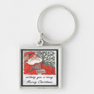 Wishing You A Very Merry Christmas Keychain