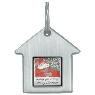 Wishing You A Very Merry Christmas Pet ID Tags