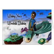 """""""Wishing You a Wonderful Birthday"""" Card"""