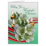 Wishing You a Wonderful Christmas Card