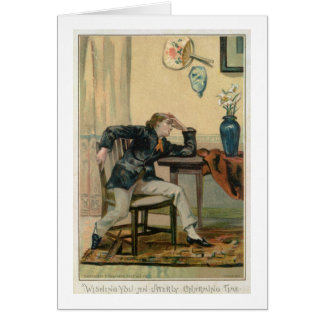 Wishing You An Utterly Charming Time, Victorian Ch Card