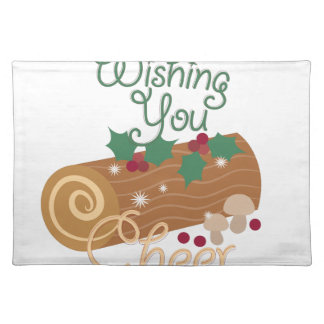 Wishing You Cheer Cloth Placemat