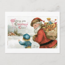 Wishing You Christmas Cheer Holiday Postcard