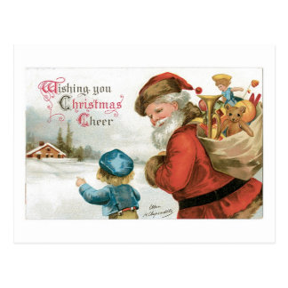 Wishing You Christmas Cheer Postcard