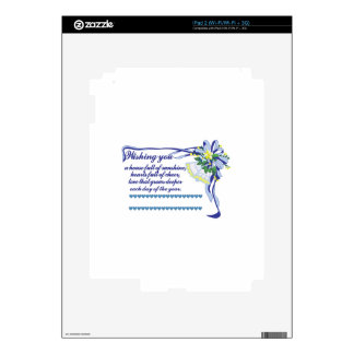Wishing You Decal For The iPad 2