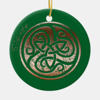 Wishing you Health- Slainte Ceramic Ornament