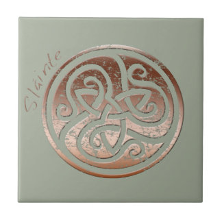 Wishing you Health- Slainte Ceramic Tile