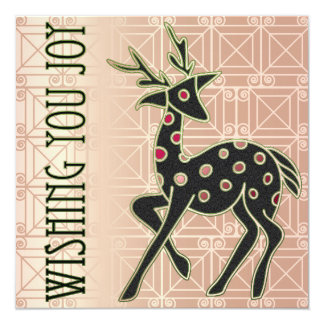 Wishing You Joy 5.25x5.25 Square Paper Invitation Card