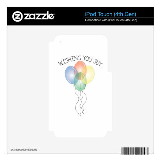 Wishing You Joy Skin For iPod Touch 4G
