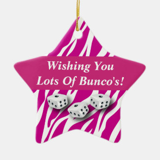 Wishing You Lot's of Bunco's Gift Ornament
