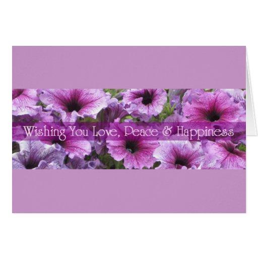 WISHING YOU LOVE... greeting card