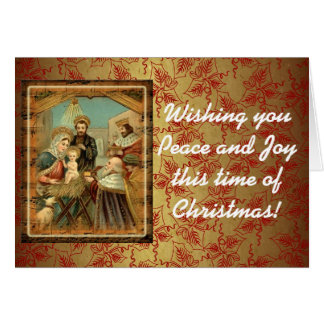 Wishing you Peace and Joy this time of Christmas Card