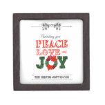 Wishing you peace love and Joy Cajas De Joyas De Calidad