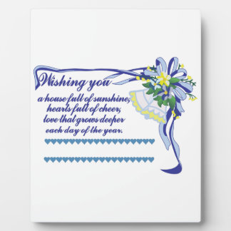 Wishing You Plaque
