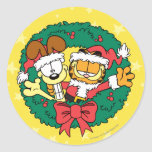 Wishing You the Best of the Season Classic Round Sticker