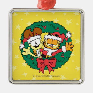 Wishing You the Best of the Season Metal Ornament