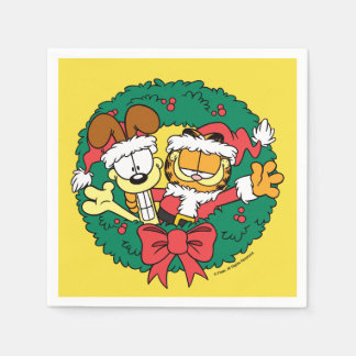 Wishing You the Best of the Season Paper Napkin