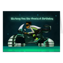 """""""Wishing You the Coolest Birthday"""" Card"""