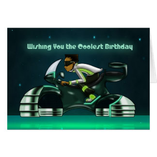 """Wishing You the Coolest Birthday"" Card"