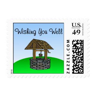 Wishing You Well Stamp