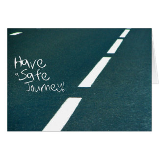 Wishing your friend a Safe Journey Card