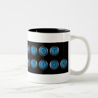 Wishlist Backspacer Type Coffee Mug