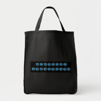Wishlist Backspacer Type Grocery Bag