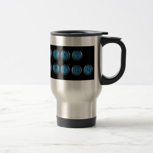 Wishlist Backspacer Type Travel Mug