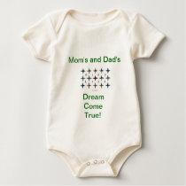 Wishlist, Mom's, Dad's Dream Come True! Baby Bodysuit