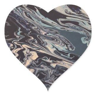 """""""Wishy Washy"""" Heart Stickers"""