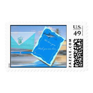 wishyouwashere stamp