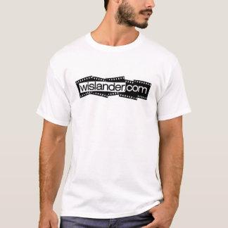 Wislander.com Film Logo - front T-Shirt
