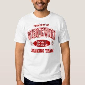 Wisniewski Polish Drinking Team Tee Shirt