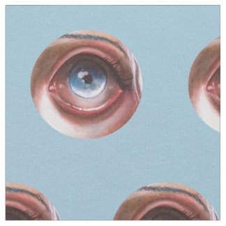 Wisp Eyeball Pop Surrealism Big Eyed Fabric