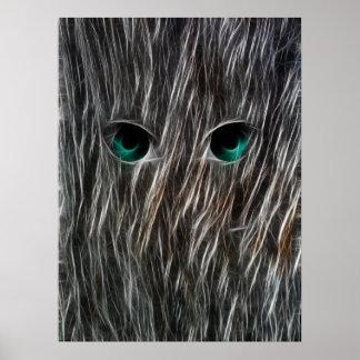 Wisp Eyes Poster