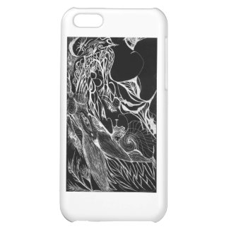 Wispers Inverted iPhone 5C Cover