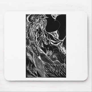 Wispers Inverted Mouse Pad