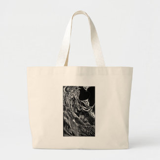 Wispers Inverted Tote Bags
