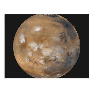 Wispy Clouds of Mars Postcard