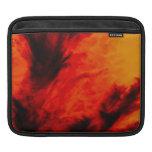 Wispy Clouds - Orange iPad Sleeve