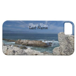 Wispy Clouds Over The Rocks; Customizable iPhone SE/5/5s Case