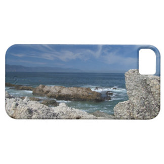 Wispy Clouds Over The Rocks iPhone SE/5/5s Case